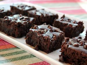 Gluten-free Black Bean Brownies