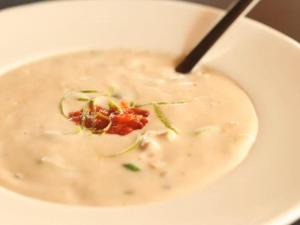 Gingered Coconut Vegetable Soup