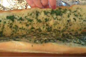 Fresh Baked Garlic Bread