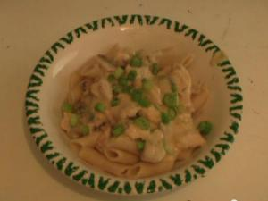 Creamy Chicken Pasta Carbonara