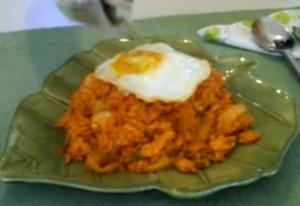 Korean-Style Kimchi Bokkeumbop Fried Rice