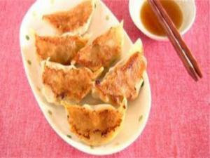 Yaki Gyoza (Fried Dumplings)