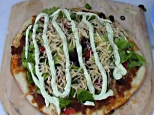 Taco Pizza on the Kamado Joe Classic