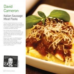 David Cameron's Italian Sausage Meat Pasta