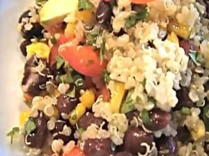 Quinua Santa Fe Salad