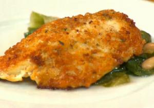 Parmesan Crusted Chicken Cutlets
