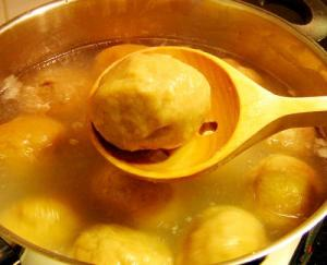 Fluffy Potato Dumplings