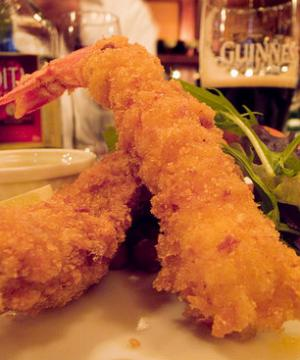 Fried Shrimp De Luxe
