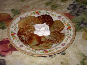 Deruny - Ukrainian Potato Pancakes