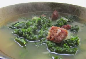 Kale and Chorizo Soup