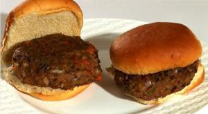 Michael Jackson's Black Bean Veggie Burgers