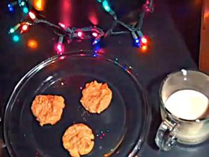 Christmas Gluten Free Peanut Butter Cookies