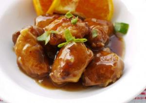 Citrus Chicken with Gravy