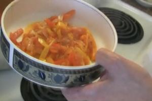 Vegetable Peperonata