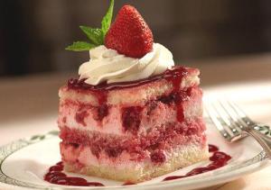 Raspberry Angel Trifle