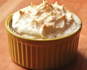 Apple Meringue Pudding