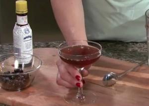 Old Style Manhattan Cocktail