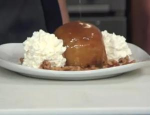 Blue Lantern Lounge Inside Out Baked Caramel Apple