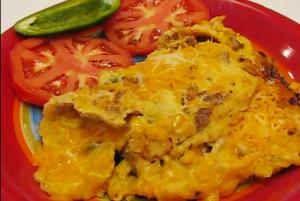 Quick and Comforting Southern-Style Tex-Mex Omelet