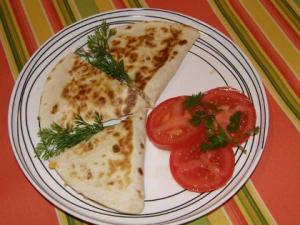 Super Easy Chicken Quesadillas