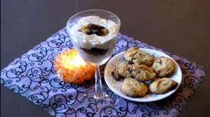 Mother's Day Special Tahini Raisin Parfe