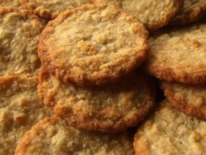 Healthy Organic Coconutty Cookies