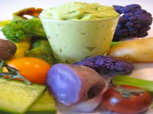 Delicious Avocado Herb Dip