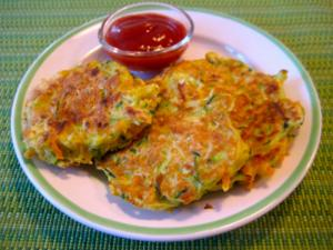 Kid's Veggie Pancake