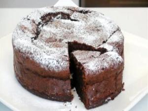 Dark Chocolate Raisin Cake