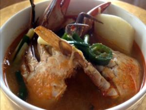 Spicy Crab Soup