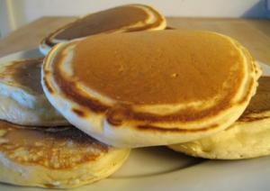 Pancakes make wonderful menu for a kids lunch
