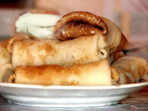 Whole Wheat Blintzes