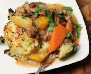 St. Patrick's Day - Lamb Stew with Colcannon