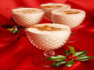 Hot Spicy Apple Eggnog