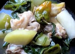 Filipino Chicken Tinola