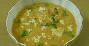 Shahi Paneer (Paneer with creamy curry)