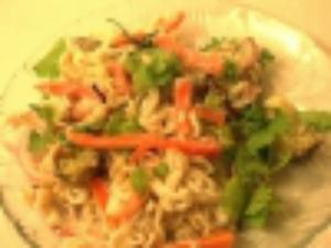 Baked Noodles With Vegetables