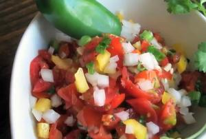 Quick Fresh Salsa Part 1