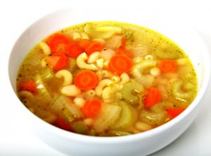 Herb Flavored Chicken Noodle Soup