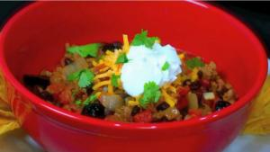 Elba's Turkey Chili