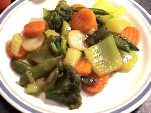 Chinese Vegetables Stir Fry