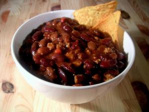 Chili Con Carne With Beef And Pork