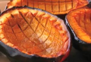 Baked Maple Glazed Squash