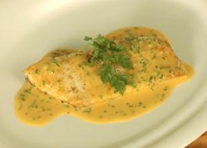 Pan Fried Fish With Smoked Paprika Sauce