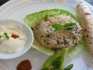 Spicy Mint Rice
