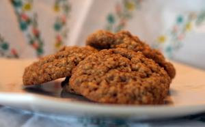 Fudge Oatmeal Cookies