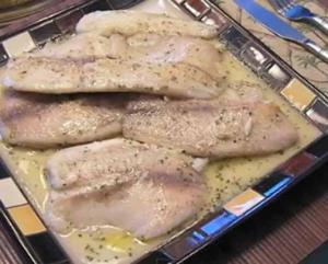 Pan Fried Tilapia With Lemon Mustard Sauce