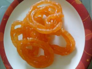 Delicious Crunchy Jalebi