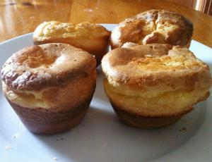 Easy Whole Wheat Popovers
