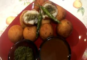પેટીશ - Stuffed Aloo Tikki - Patties or Pattice - Stuffed Potato Balls